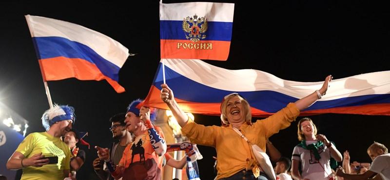 Az oroszok már a mennyben vannak