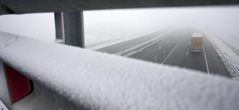 Vigyázat! Köd, ónos eső, jegesedés