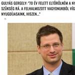 Az utóbbi idők legnagyobb hülyesége terjed a magyar nyugdíjakról, Gulyás Gergelyt is belekeverték