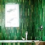 Kreatív fürdőszobák mozaikburkolattal (fotókkal)
