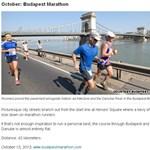 Budapesti futóversenyt ajánl a CNN