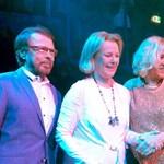Nyolc év után először mutatkozott együtt az ABBA