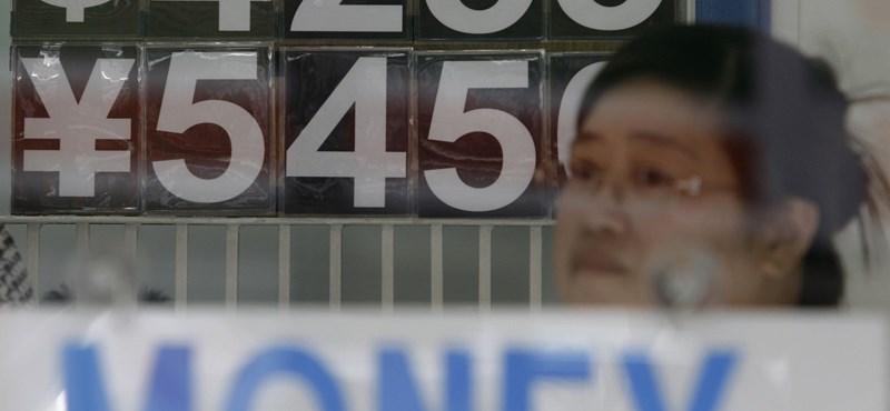 Veszteséggel zártak az ázsiai tőzsdék