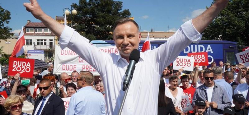 Magas a részvételi arány a lengyelországi elnökválasztáson