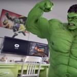 Jövőre a VR-ben bárkiből lehet Hulk, vagy más Marvel-szuperhős – videó