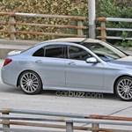 Leplezetlenül az új Mercedes C-osztály – fotó
