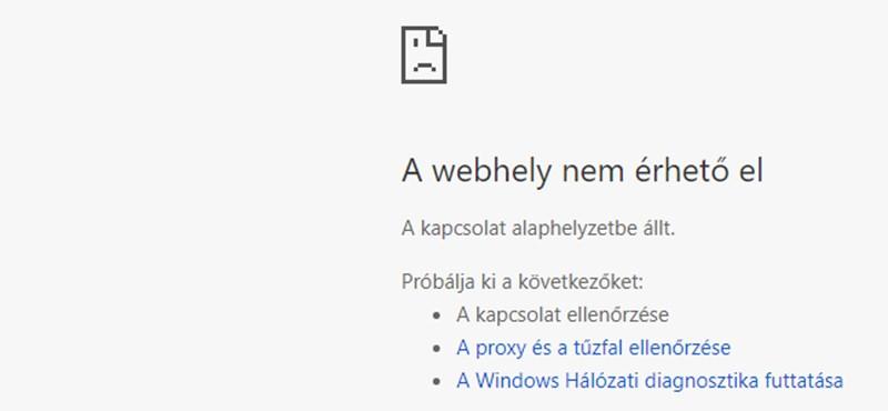 Itt a jelentés, hogy miért állt le az NVI honlapja a választás napján