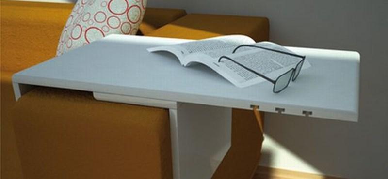 A 'kaméleon' asztal - Úgy alakítható, ahogy éppen van hely