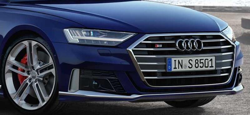 Kicsit hibrid, nagyon biturbó V8: Magyarországon az 571 lóerős új Audi S8