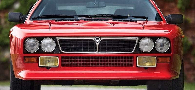 Százmillió forintért cserélhet gazdát a Lancia egyik legritkább autója