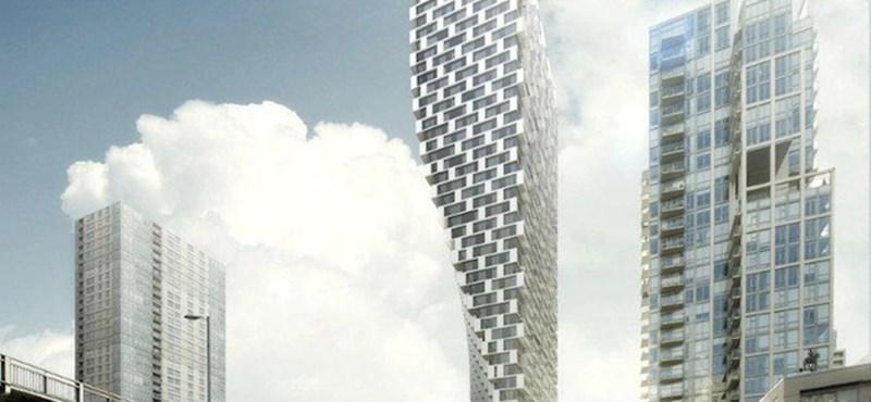 Itt az újabb forgó felhőkarcoló ötlete