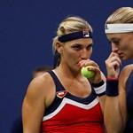 Babosék játék nélkül negyeddöntősök Wimbledonban