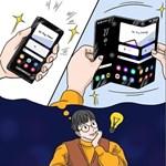 Megvillantotta a Samsung, milyen lehet a jövő okostelefonja