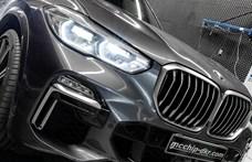 515 lóerős és dízel: alaposan felhergelték az új BMW X5-öt