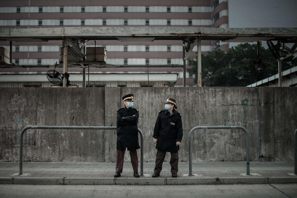 afp. madárinfluenza, Kína, 2014.01.27. Hongkong
