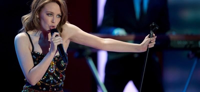 Így vidította fel Pharrell Kylie Minogue-ot