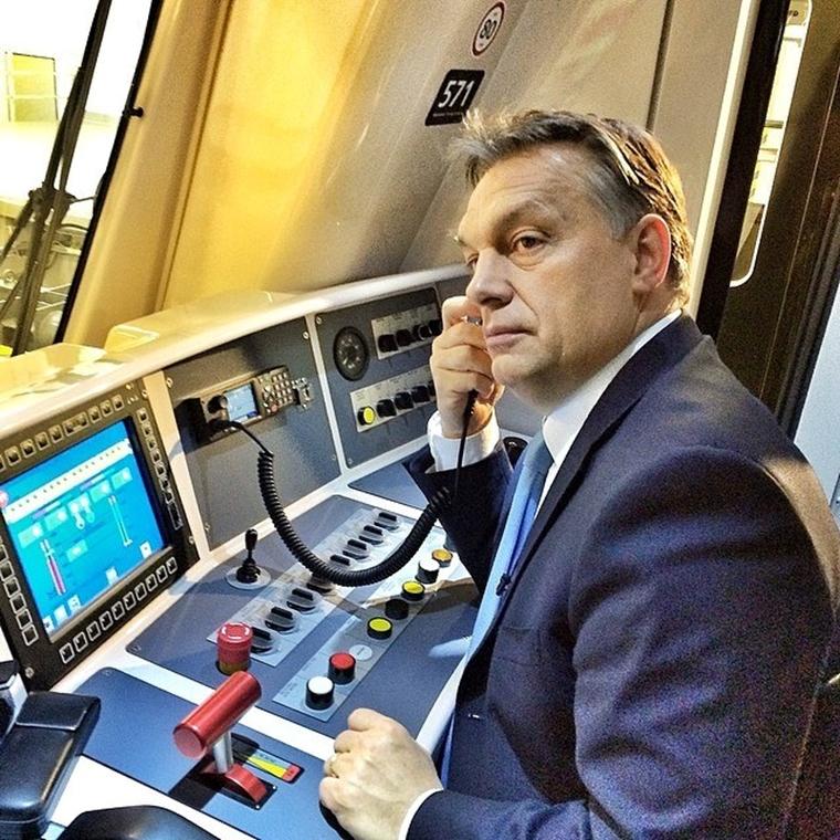 Orbán Viktor 4-es metró