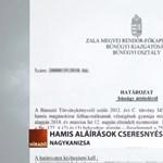 Hamis aláírások lehetnek az NGM államtitkárának ajánlóívein