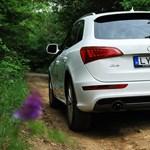 Audi Q5 hybrid teszt: erő és alázat