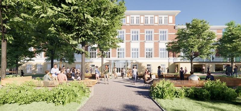 Megmutatták, hogy fog kinézni a CEU új bécsi campusa