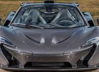 Tolatóradar: 1,3 milliárddal egy McLaren a legdrágább eladó autó itthon