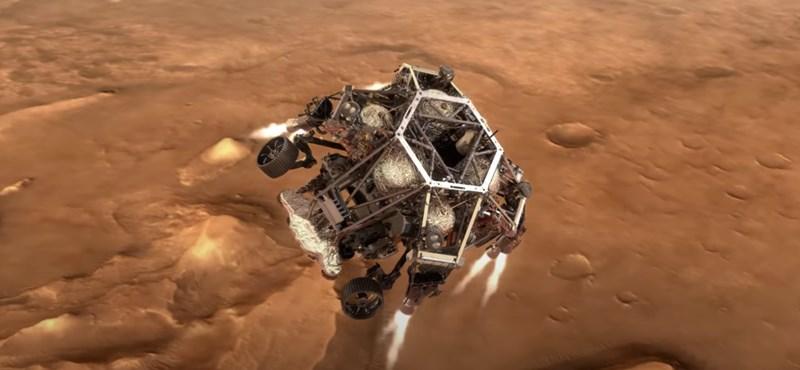 Egy hónap múlva ilyenkor már az élet nyomait keresi a Marson a NASA