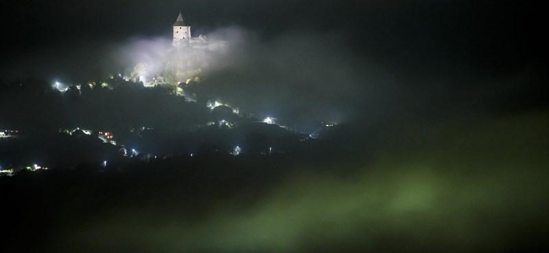 Fotók: Kísérteties tájjá változott Magyarország az éjszaka