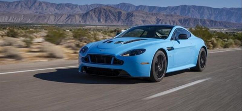 Videón az Aston Martin extrém sportkupéja