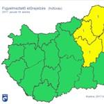 Időjárás: kettészakad szerdán az ország (térképes figyelmeztetés)