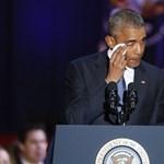 Obama könnyek között búcsúzott az amerikaiaktól - videó