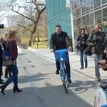 Egyetemi kerékpárkölcsönző startolt Debrecenben