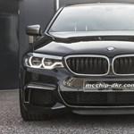 515 lóerős dízel BMW: erre elég négy turbó az új M550d-ben