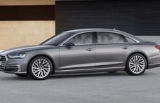 Kémfotókon a megújuló Audi A8: válasz a Mercedes S-osztályra