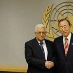 Kanada és az USA sem támogatja még az új palesztin ENSZ-státuszt