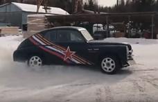 Egy 550 lóerős Pobjeda az orosz válasz Ken Blockra - videó