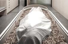 Jön az újfajta temetkezés? Elindult a cég, amely emberi komposztálást végez