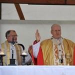 Misét tartott a pápaságra esélyes Erdő Péter