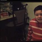 Ilyen, amikor a gyerek nem azt kapja karácsonyra, amit szeretne (videó)