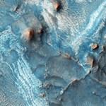 Valami nedveset találtak a Marson
