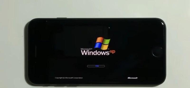 Nem mindennapi látvány: Windows XP fut az iPhone 7-esen – videó