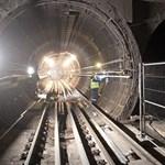 Egy 50 éves emlék került elő a metrófelújítás során a Belvárosban