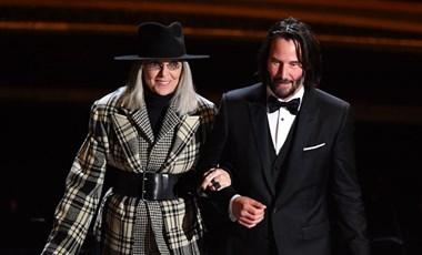 Keanu Reeves úgy flörtölt Diane Keatonnal, hogy a színésznő belepirult