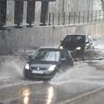 Fotók: elárasztotta Budapestet az eső
