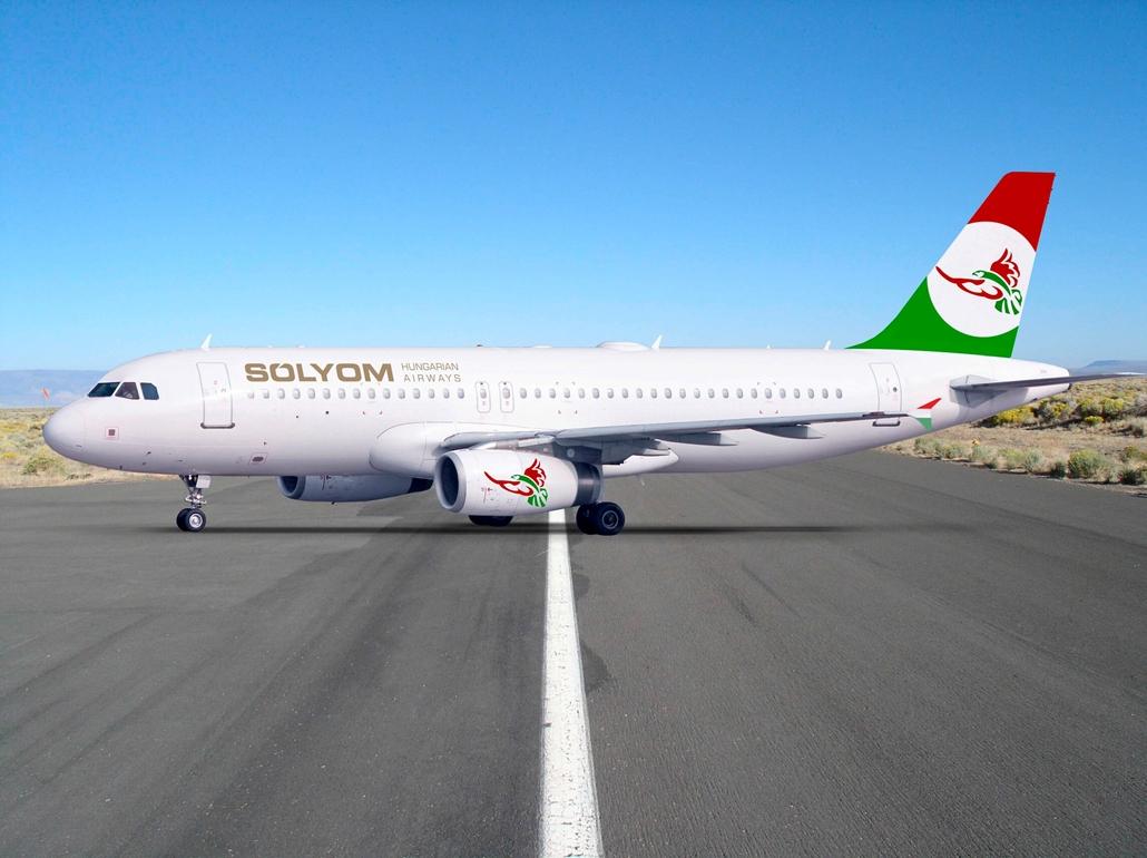 Sólyom Hungarian Airways Airbus A320