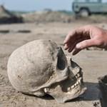 34 méter hosszú koponyafalat tártak fel Mexikóban