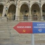 Egymásra szervezték a DK élőláncát és a Romantikus Erőszak koncertjét a Kossuth téren