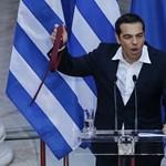 A görög kormányfő megnyerte a bizalmi szavazást a parlamentben