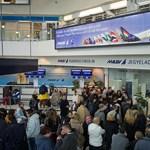 Képek a reptérről