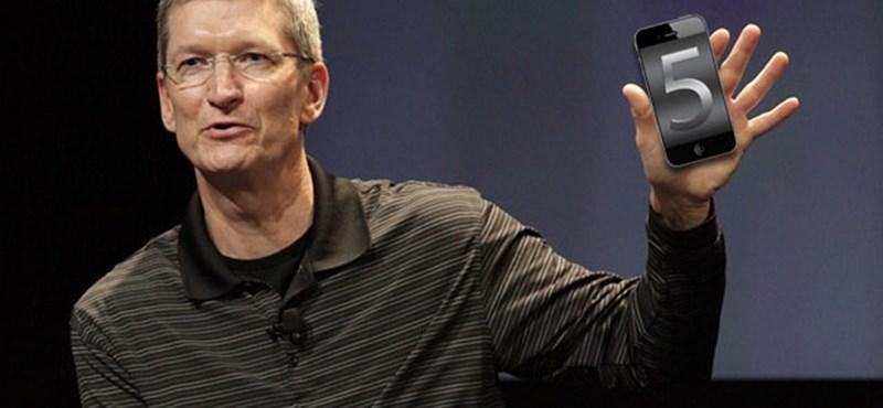 Október 4-én jön az iPhone 5?