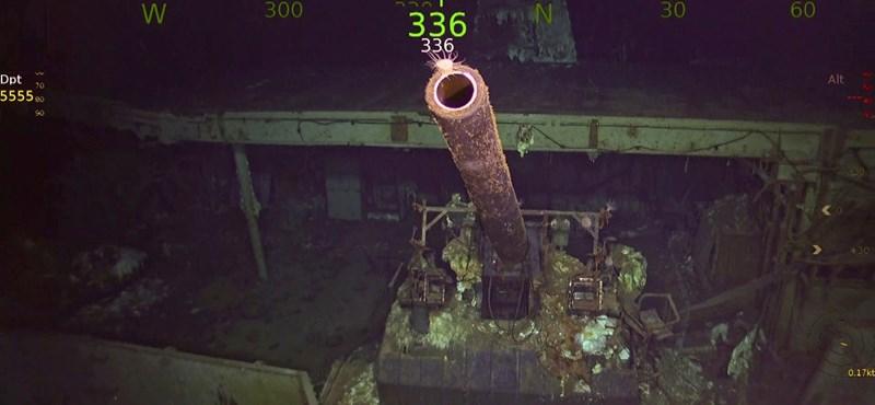 76 éve süllyedt el, most 5300 méter mélyen találták meg az amerikaiak egyik legfontosabb hadihajóját – képek, videó